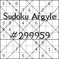 Sudoku Argyle №299959