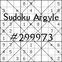 Sudoku Argyle №299973