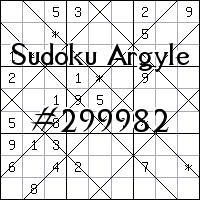 Sudoku Argyle №299982