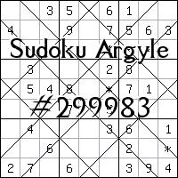 Sudoku Argyle №299983