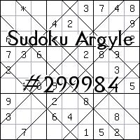 Sudoku Argyle №299984