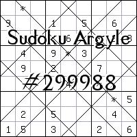 Sudoku Argyle №299988