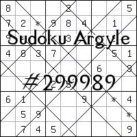 Sudoku Argyle №299989