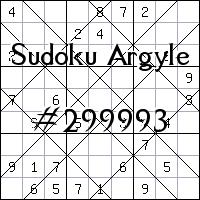 Sudoku Argyle №299993