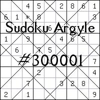 Sudoku Argyle №300001