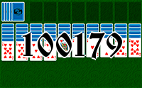 Solitaire №100179