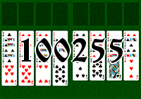 Solitaire №100255