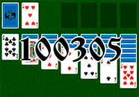 Solitaire №100305