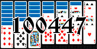 Solitaire №100447