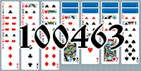 Solitaire №100463