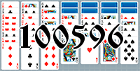 Solitaire №100596