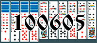 Solitaire №100605
