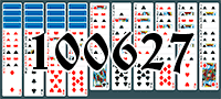 Solitaire №100627