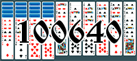 Solitaire №100640