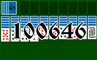 Solitaire №100646