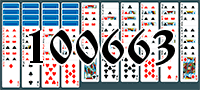 Solitaire №100663