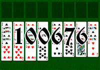 Solitaire №100676