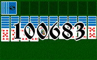 Solitaire №100683