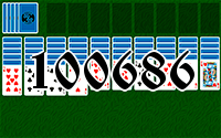 Solitaire №100686