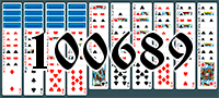 Solitaire №100689
