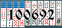 Solitaire №100692