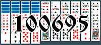 Solitaire №100695