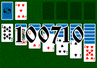 Solitaire №100710
