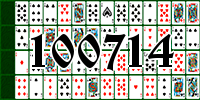 Solitaire №100714