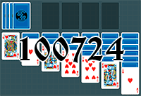 Solitaire №100724