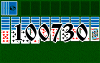 Solitaire №100730