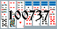 Solitaire №100737