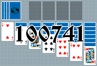Solitaire №100741
