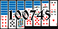 Solitaire №100745