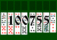 Solitaire №100755
