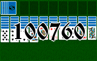 Solitaire №100760