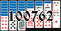 Solitaire №100762