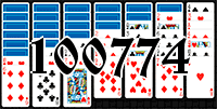 Solitaire №100774