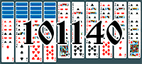 Solitaire №101140