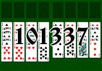Solitaire №101337