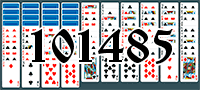 Solitaire №101485