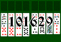 Solitaire №101629