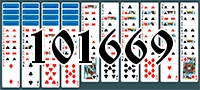 Solitaire №101669