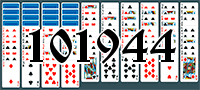 Solitaire №101944