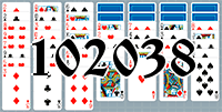 Solitaire №102038