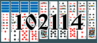 Solitaire №102114