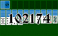 Solitaire №102174