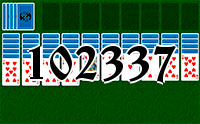 Solitaire №102337