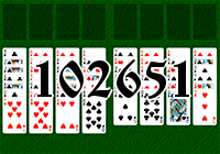 Solitaire №102651