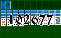 Solitaire №102677