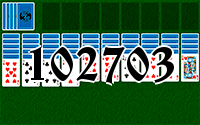 Solitaire №102703